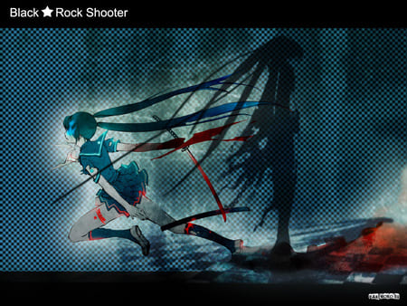 Wallpapers Black Rock Shooter