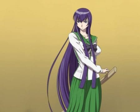 Оригинальная Busujima Saeko с мечом