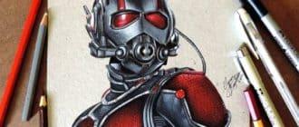 Рисунок человека муравья