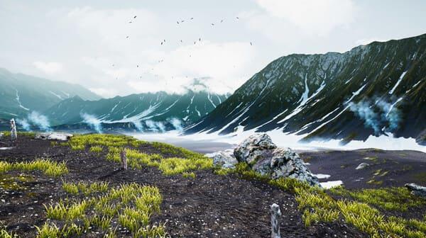 Скриншот пейзажа игры