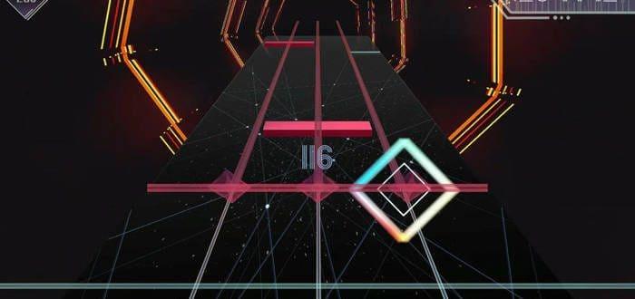 Скриншот музыкальной игры на ПК