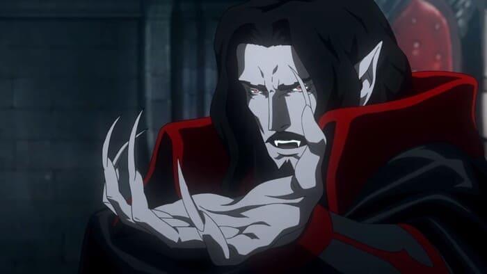 Дракула в 4 сезоне Castlevania