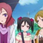 Три девочки из продолжения аниме