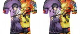 Две аниме футболки
