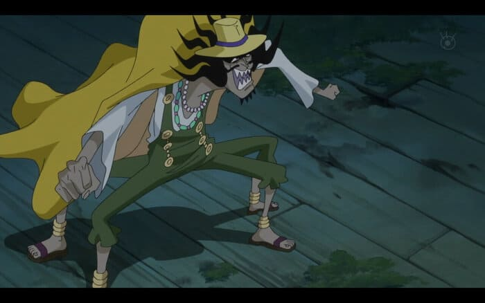 Умерший персонаж аниме Ван Пис