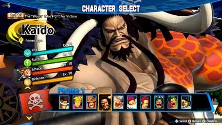 Персонаж Кайдо из игры