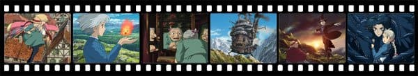 Кадры из аниме Howl's Moving Castle