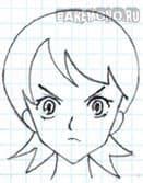 Рисуем лёгкое аниме