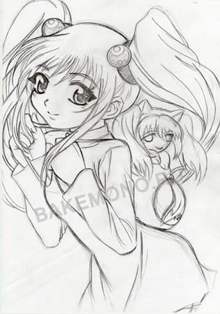 рисунки нарисованные карандашом аниме: