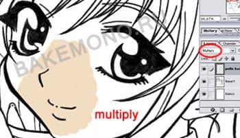 с параметрами Multiply