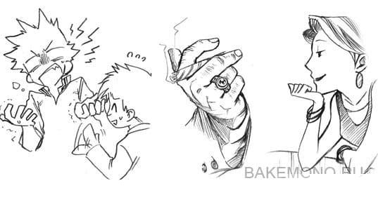 Детализация руки персонажей