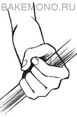 рука, которая что-то держит