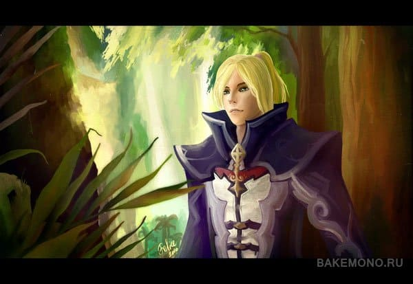 Aion fan art boy