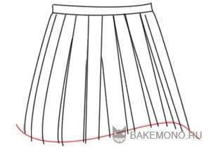 Рисуя линии складок