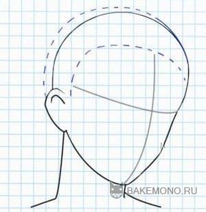 Мужские короткие волосы