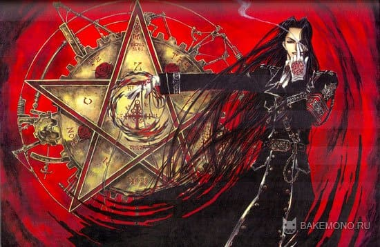 Красивый арт trinity blood illustrations
