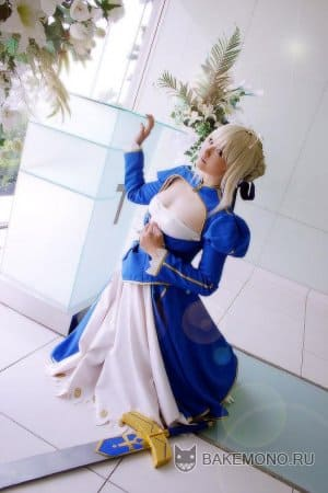 Косплей Saber - Fate / Stay Night