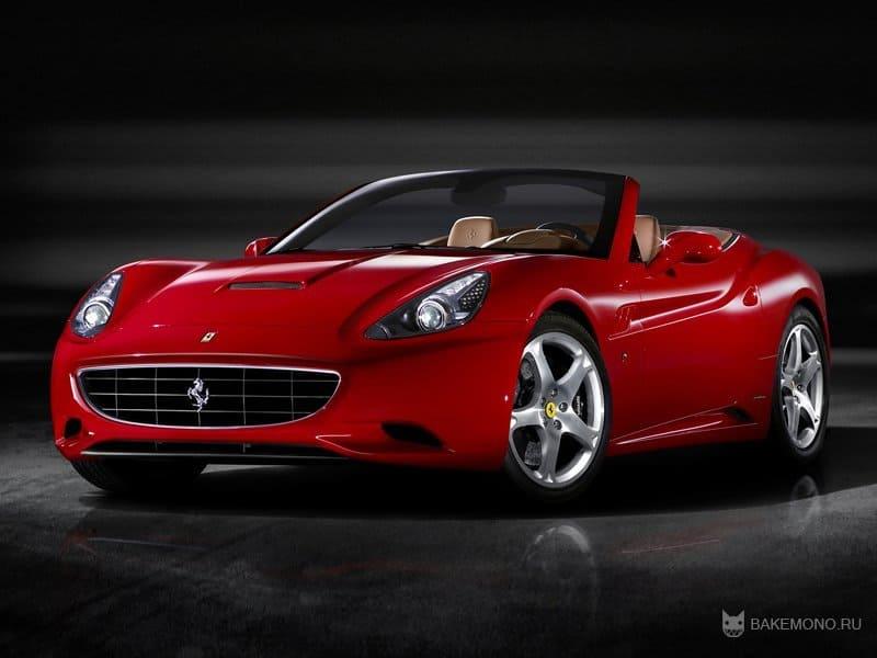 Ferrari California обновят в 201…