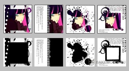Несколько примеров применения подобных текстур