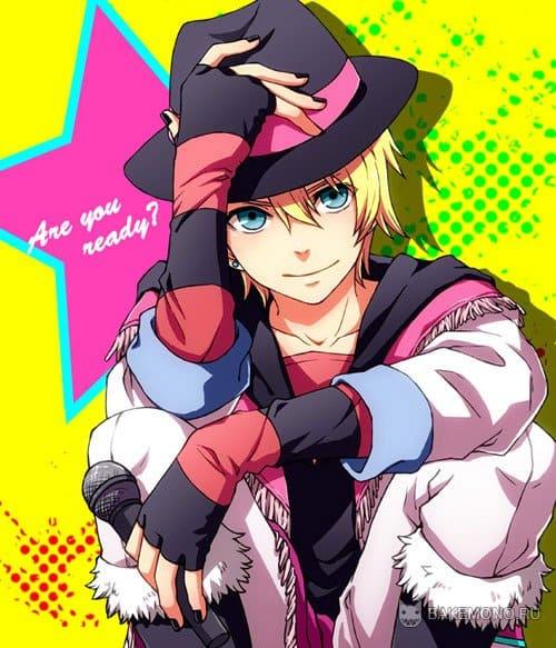 Картинки аниме поющий принц фото 17-869