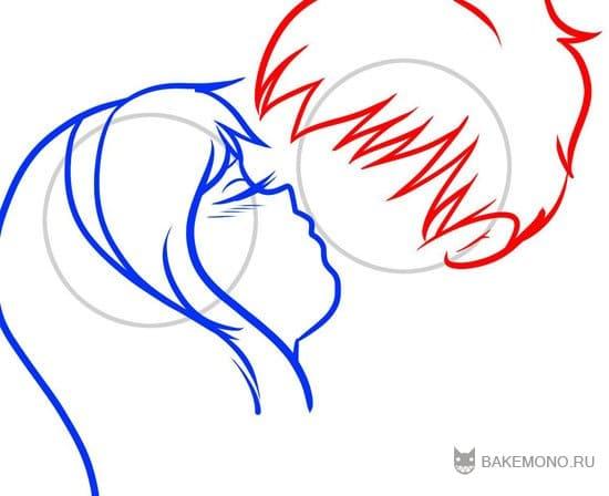 как рисовать аниме пошаговая инструкция: