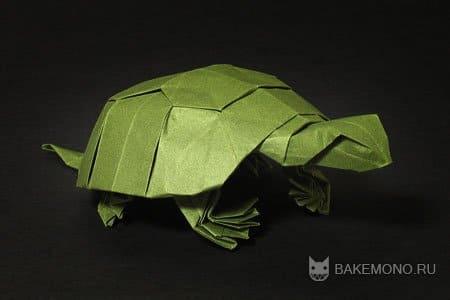 Оригами | Черепаха