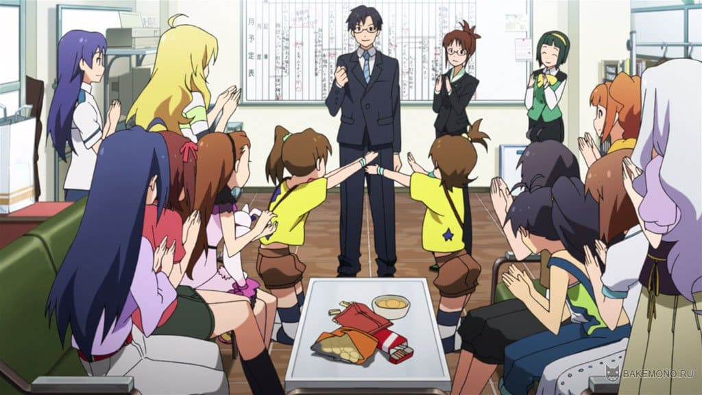 Смотреть аниме the idolmaster онлайн