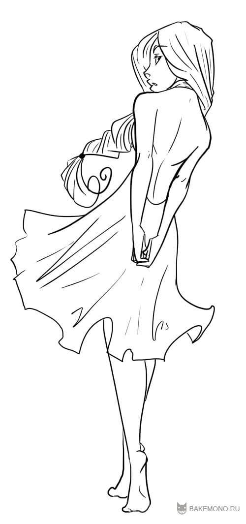 как рисовать аниме девушек