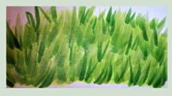 Как рисовать траву
