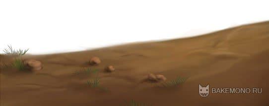 Как рисовать землю с помощью Paint tool SAI