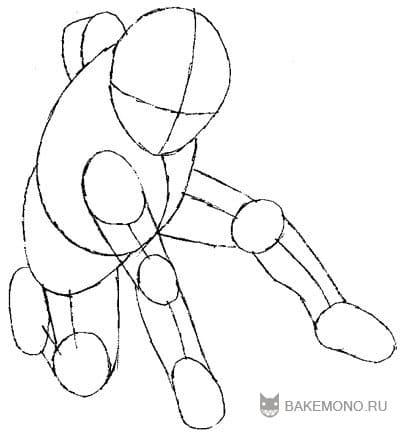 Добавляем мышцы для рук и ног