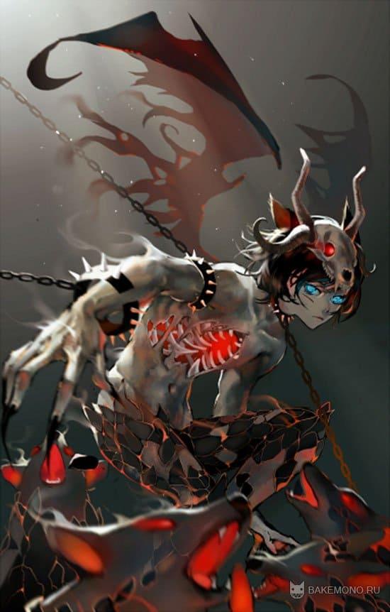 Картинки - Аниме волки демоны: bakemono.ru/download/other/image/4219-anime-volki-demony.html
