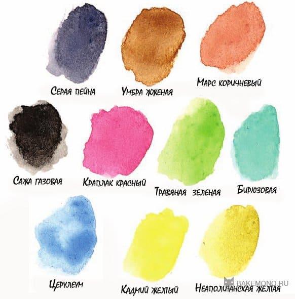 Как сделать теплые цвета из гуаши