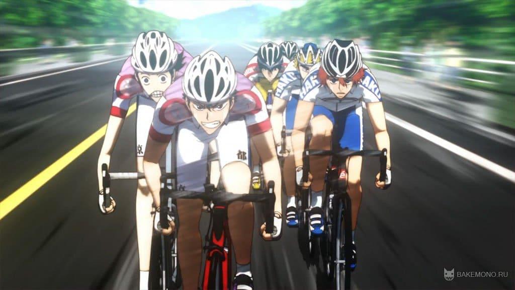Смотреть аниме трусливый велосипедист 8 фотография