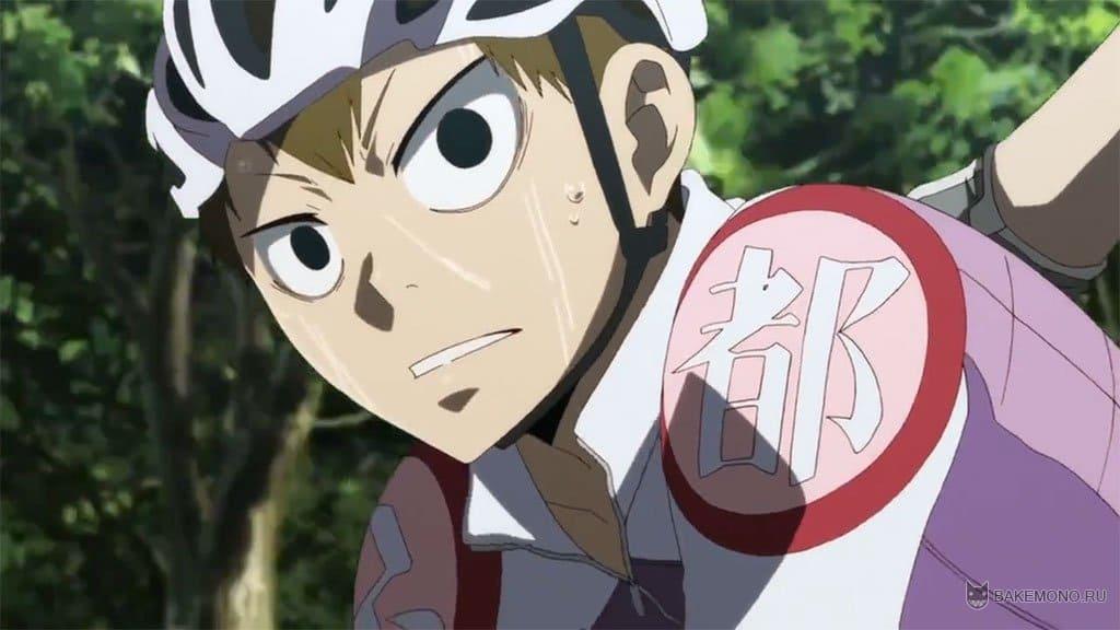 Смотреть аниме трусливый велосипедист 6 фотография