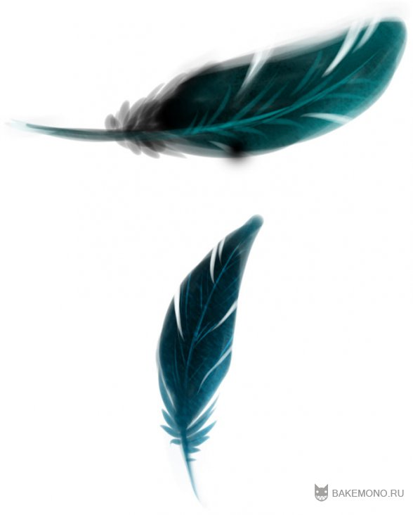 Рисовать перья фотошоп