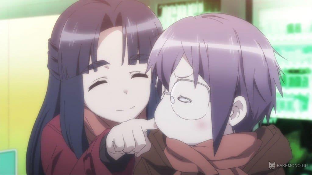 ... - смотреть онлайн | Nagato Yuki-chan no Shoushits: bakemono.ru/anime-2015/anime-2015-spring/4773-ischeznovenie-yuki...